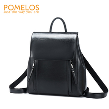 POMELOS Backpack Women High Quality Split Leather For Rucksack Travel Bagpack Girls