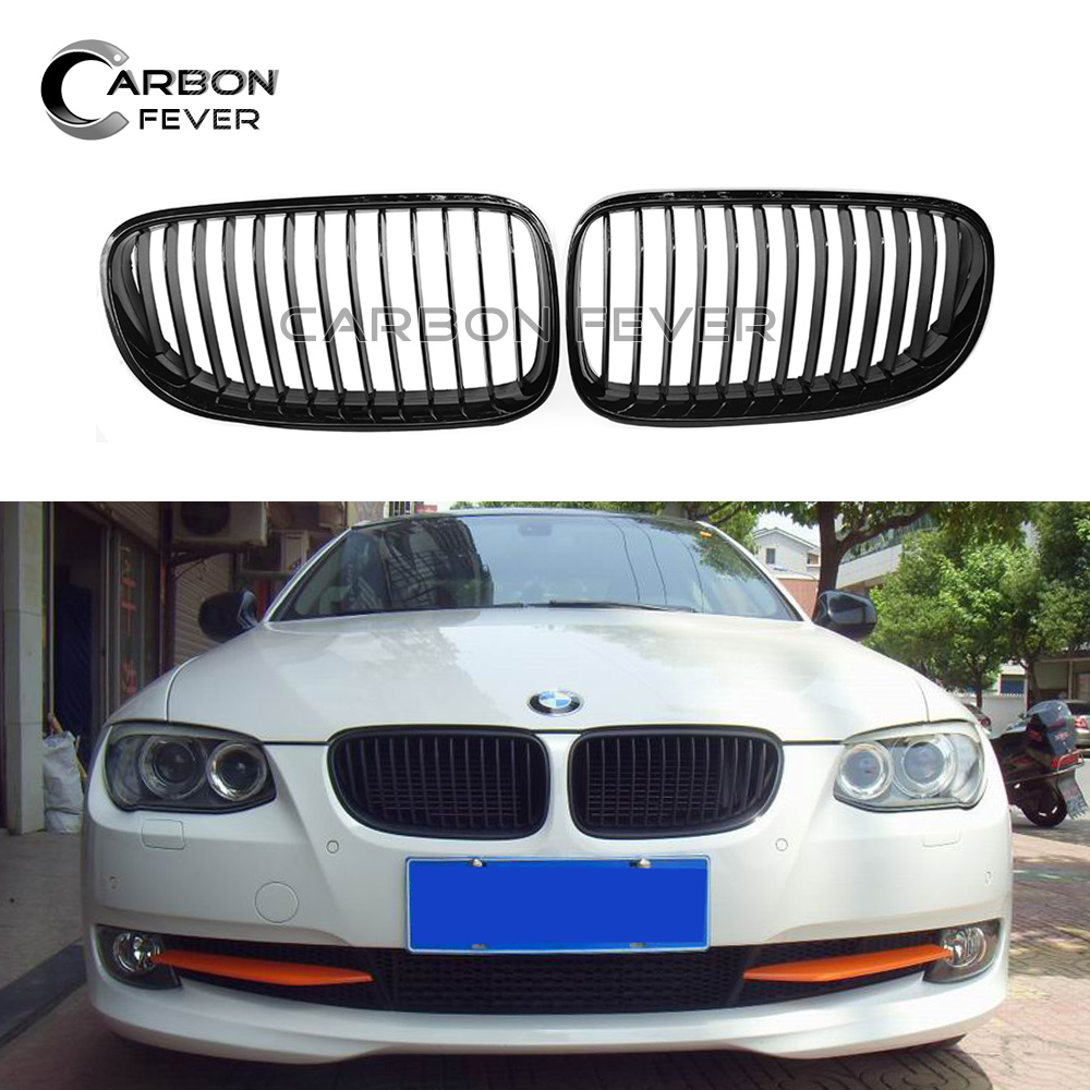 E92 E93 Front Bumper Kidney Grille Replacement Grill For