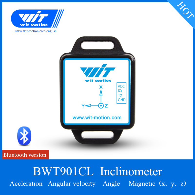 US $28 5 5% OFF|Bluetooth Sensor BWT901CL 3 Axis Angle (Roll Pitch Yaw)  Inclinometer Acceleration Gyro Electronic Compass Module For PC/Android-in