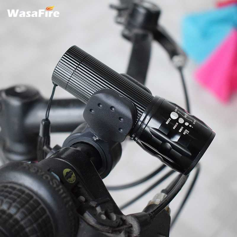 HOT Light <font><b>7</b></font> Watt <font><b>2000</b></font> Lumens <font><b>3</b></font> Mode Cycling Bicycle Bike Lights+Torch Holder Bike Q5 LED Waterproof Front Light Zoom Flashlight image