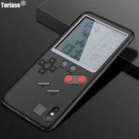 Ретро Многофункциональный телефон чехол для iPhone X 8 плюс 7 плюс играть nintendo тетрис Gameboy подарок для ребенка для iPhone 7 Plus
