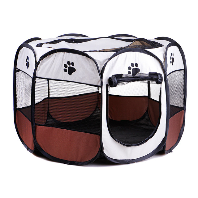 Foldable Dog Cat Playpen Yard Security Kennel Mesh Shade Cover Fence Tent For Indoor Outdoor Pet  sc 1 st  AliExpress.com & Foldable Dog Cat Playpen Yard Security Kennel Mesh Shade Cover ...