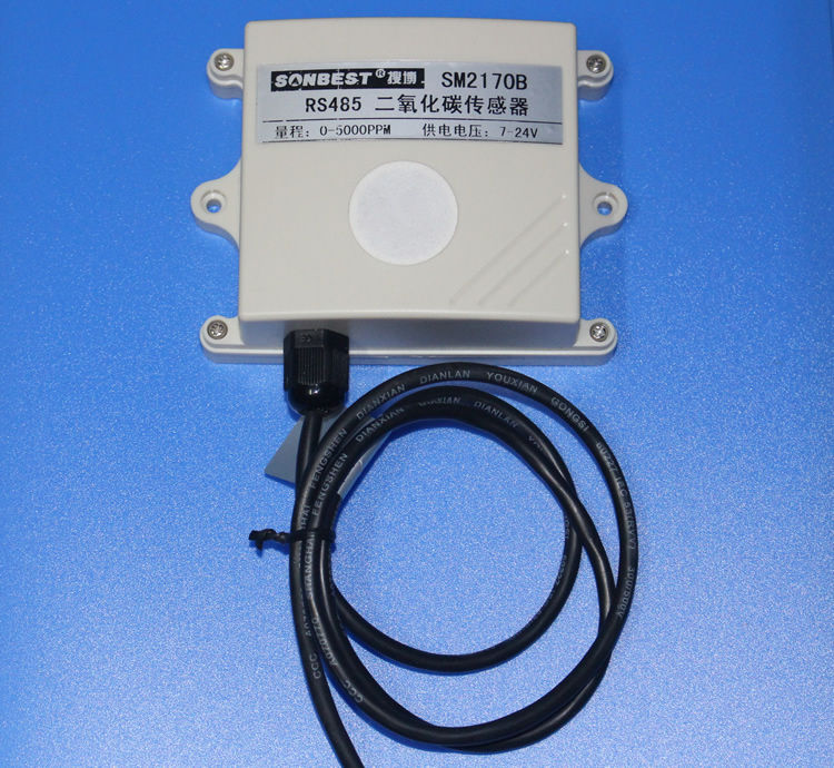 RS485 carbon dioxide sensor CO2 transmitter Built in MH Z14 Voltage and current outputs are optional