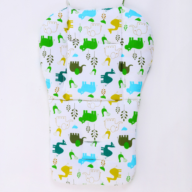 Free Shipping Baby Infant Stroller Cushion Cotton Mat, Stroller Padding Liner Thick Pad, Baby Car Seat Pushchair Pram Mattress