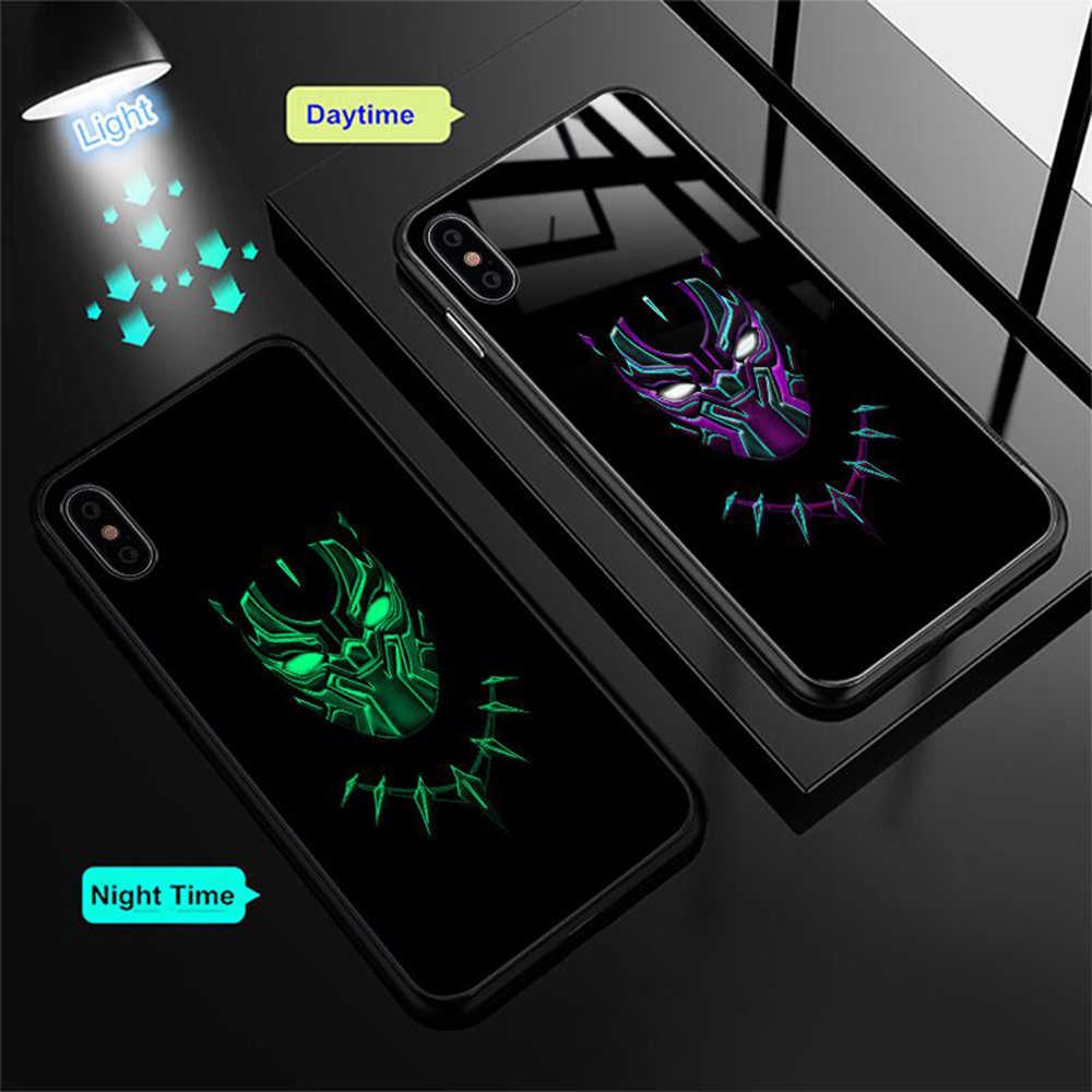 2b114ed573b ... Marvel Venom funda de vidrio para iPhone 7 8 Plus funda para iPhone X  XS MAX ...