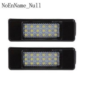 Image 1 - 2pcs 18 LED לוחית רישוי אור מנורת עבור פיג ו 207 307 308 סיטרואן ברלינגו 2004 2009 C3 C4 c5 C6 5D
