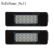 2pcs 18 LED License Plate Light Lamp For Peugeot 207 307 308 Citroen Berlingo 2004 2009 C3 C4 C5 C6 5D