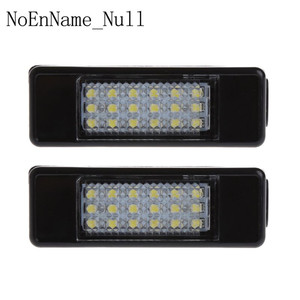 Image 1 - 2pcs 18 LED License Plate Light Lamp For Peugeot 207 307 308 Citroen Berlingo 2004 2009 C3 C4 C5 C6 5D