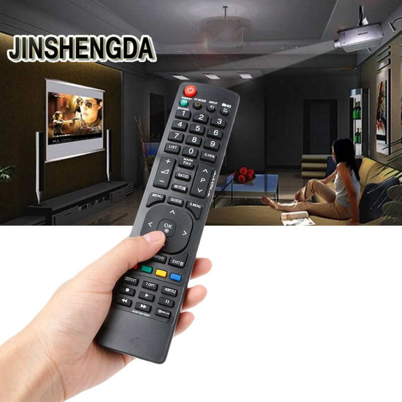 JINSHENGDA TV Remote Control AKB72915207 Replacement For LG Smart TV for 19LD350 19LD350UB 55LD520
