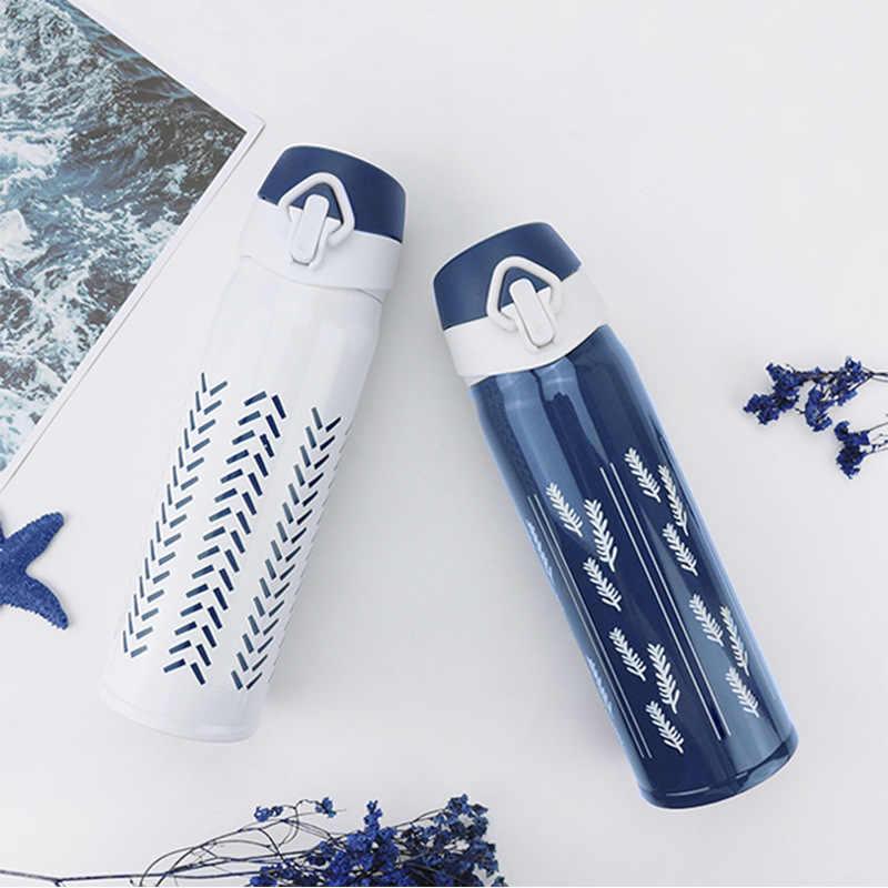 無料カスタム FangPu 真空フラスコ 304 ステンレス鋼魔法瓶カップ 500 ミリリットル飲料水マグ子供学生クリスマスギフト