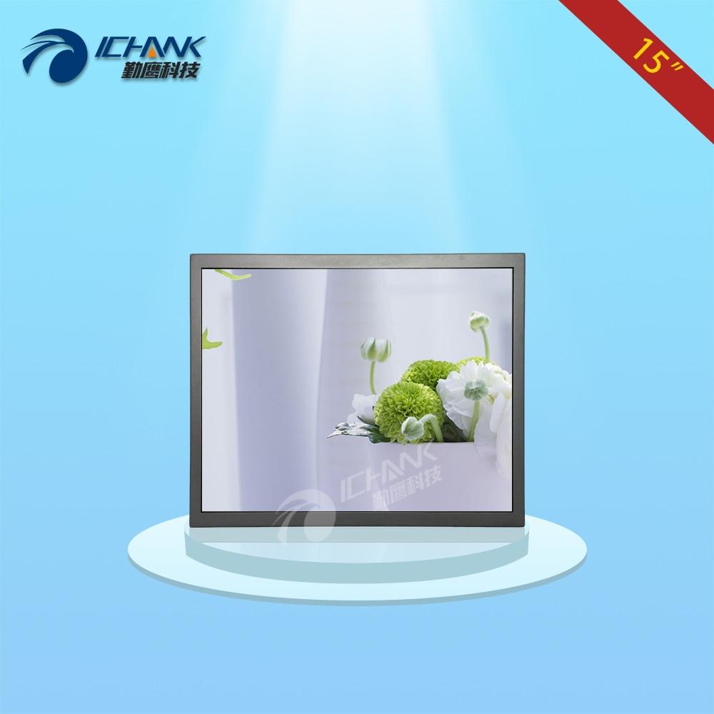 B150TN-V59/15 inch 1024x768 HD metal case BNC HDMI VGA USB Anti-interference Wall-hanging industrial monitor LCD screen display