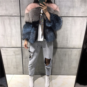 Image 4 - lady fur jacket women real fur jacket natural fur jacket upto 5xl