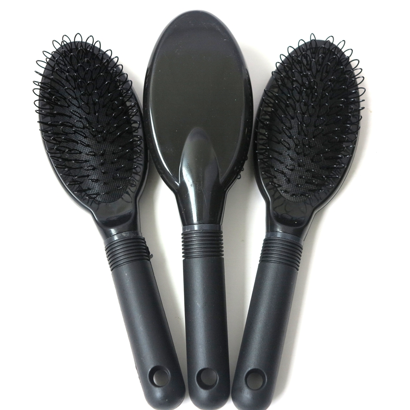 Harmony 10 Pieces Black Or Pink Plastic Loop Hair Brush Combs For