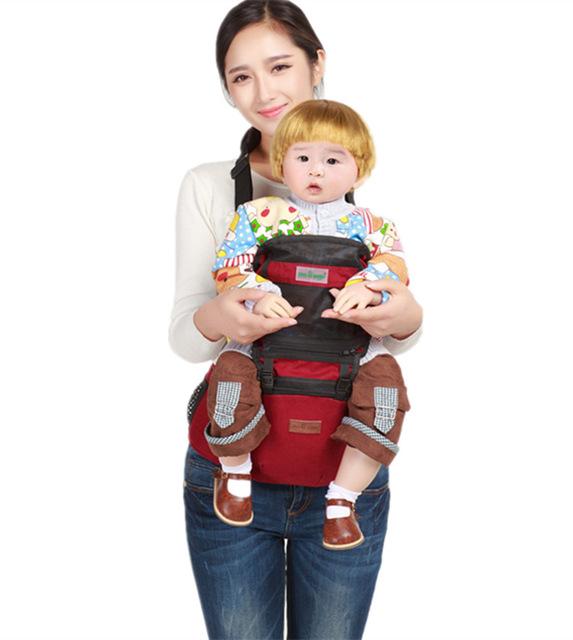 2016 Canguru Manduca Estilingue Do Bebê Comércio exterior Novo Algodão Verão Ar Fezes Cintura Bebê Tiras De Suprimentos Materna E Infantil