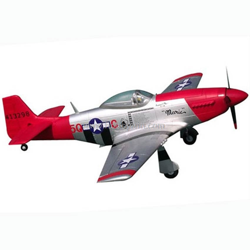 P-51D Mustang EPO Foam 1200mm wingspan KIT without electronic part RC Scale Model Warbird Airplane image