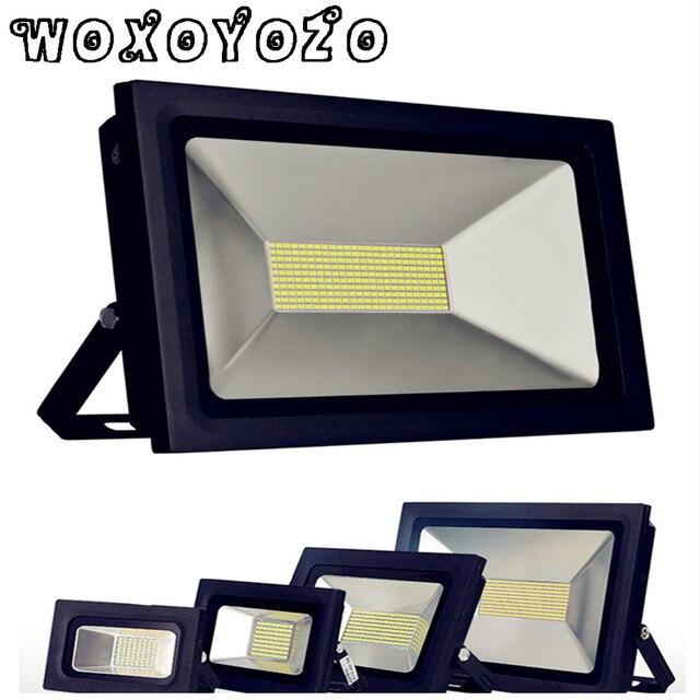 100 Вт 150 Вт 200 Вт 300 Вт 500 Вт прожектор освещения светодио дный прожектор IP65 AC 170-265 В Водонепроницаемый светодио дный Spotlight Refletor Gargen