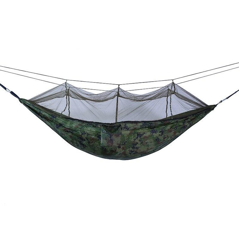 Image 3 - Camping Parachute Hammock Survival Garden Outdoor Furniture Leisure Sleeping Hamaca Travel Double Hammock 260*140cm-in Hammocks from Furniture