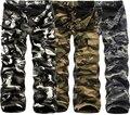 Camuflagem tático militar do exército carga calças pretas sweatpants calças dos homens roupas de marca casual masculino macacões carga pantalon