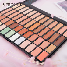 50 Colors VERONNI Concealer Palette Cream Cosmetic Professional Base Matte Pigment Face Contour Makeup Tool