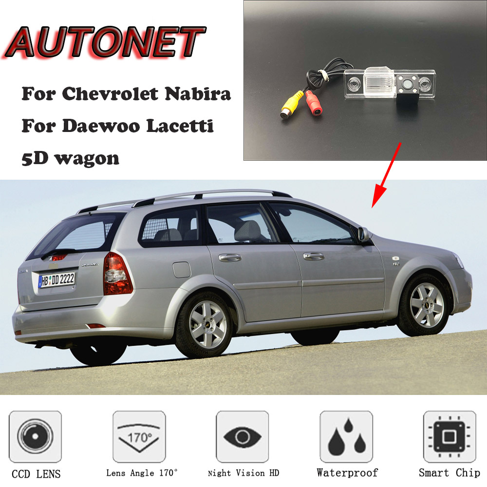 AUTONET HD Night Vision Backup Rear View Camera Or Bracket For Chevrolet Nabira Daewoo Lacetti 5D Wagon /license Plate Camera