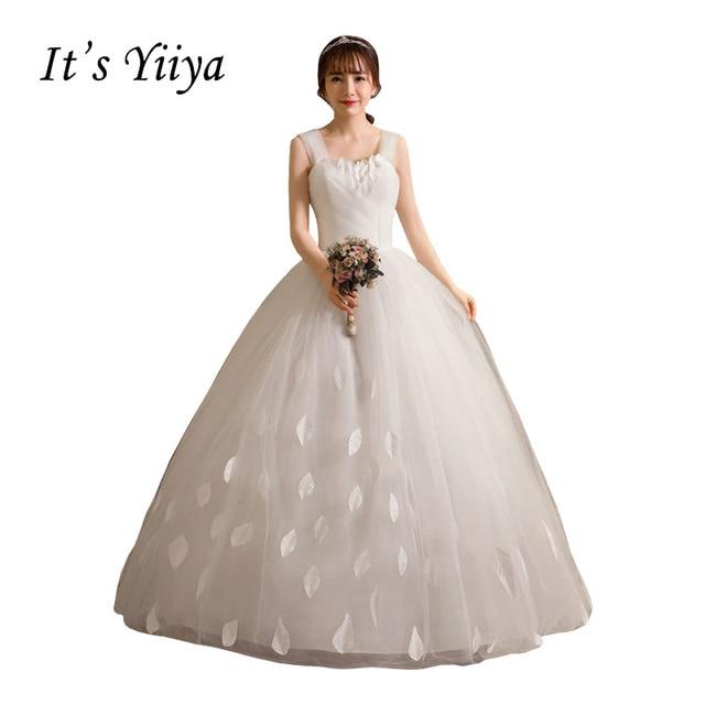 Simple Wedding Dresses Plus Size