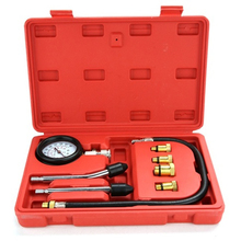 1 set Gasoline Engine Compression Tester Auto Petrol Gas Engine Cylinder Automobile Pressure Gauge Tester Professional