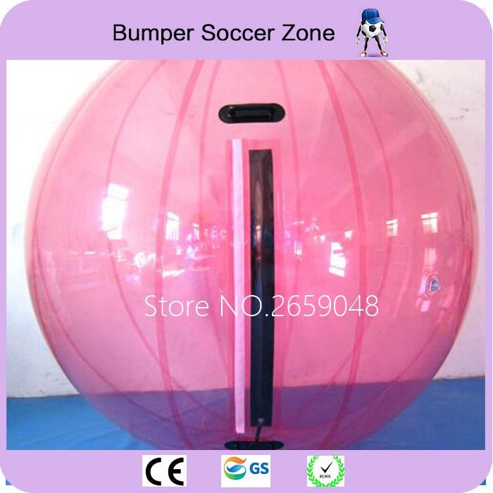 Livraison gratuite 2 m gonflable eau marche balle gonflable Hamster balle Zorb balle eau boules Zobr ballon eau avec piscine
