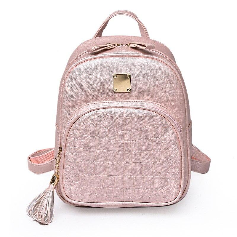 b9ce642ba80e US $15.99 49% OFF|LEFUR Women Backpack Cute PU Leather Backpacks Casual Bag  For Lady Female Travel Bags Woman Bag School Girl Pocket mochila -in ...