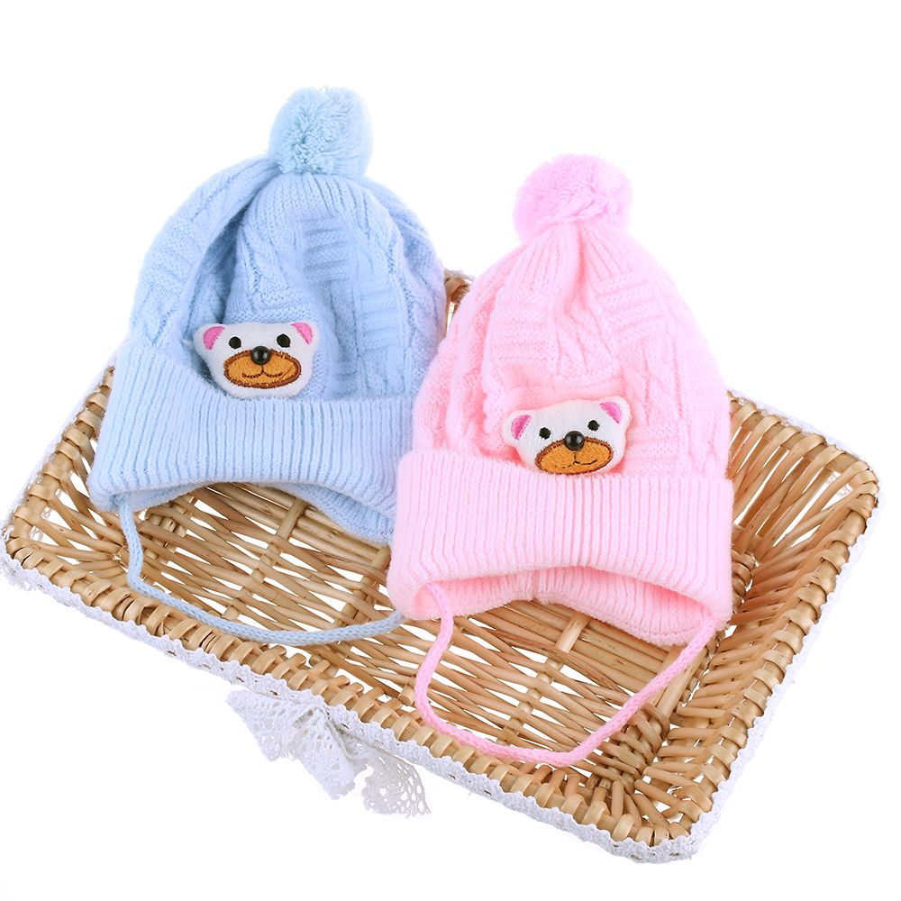 1PC Hot Lovely Baby Kid Boy Girl Unisex Toddler Newborn Soft Cotton Warm Knitted Cap Crochet Beanie Autumn Winter Hat 2017 Hot repair parts replacement speakers for psp 1000 2 piece set