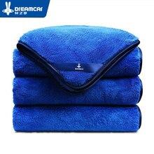 1 шт. полотенце из микрофибры, уход за автомобилем, полировка, полотенца для мытья, плюшевое полотенце для сушки, толстый плюш, полиэфирное волокно, ткань для чистки автомобиля