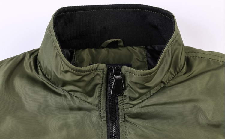 HTB1IJfteoCF3KVjSZJnq6znHFXal Men's Outwear Baseball Jacket Flight Bomber Coat Mens 2019 Spring Autumn Army Green Military Streetwear Jackets Coats Waterpoof
