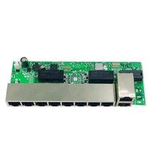ANDDEAR-48 в 8-портовый гигабитный Неуправляемый коммутатор poe 8*100 Мбит/с POE poort; 2*100 Мбит/с UP Link poort; poe powered switch NVR