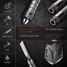 Multifunctional Tactical  Shovel | Expandable and Carbon Steel