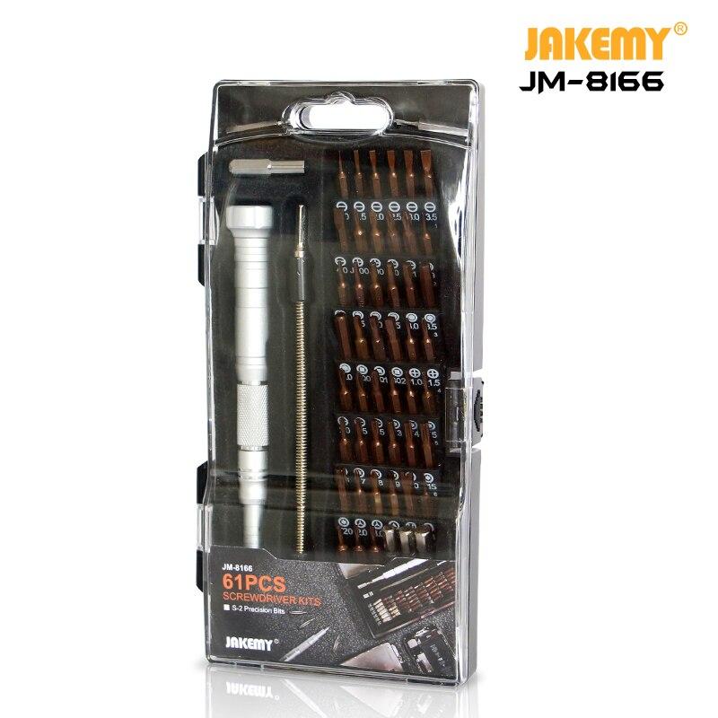JAKEMY JM-8166 Laptop Screwdriver Set Professional Repair Hand Tools Kit for Mobile Phone Computer Electronic Model DIY Repair