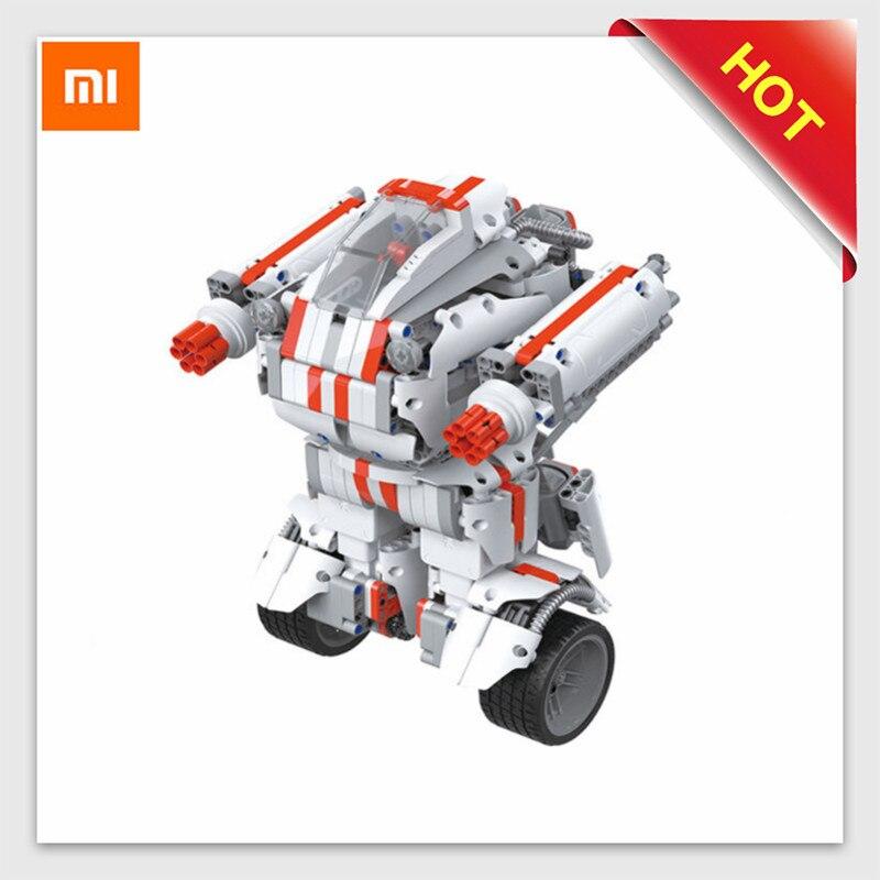 Xiao mi tu робот DIY Мобильный пульт дистанционного управления Самостоятельно собранный робот игрушка строительный блок робот Bluetooth mi Робот Игру...