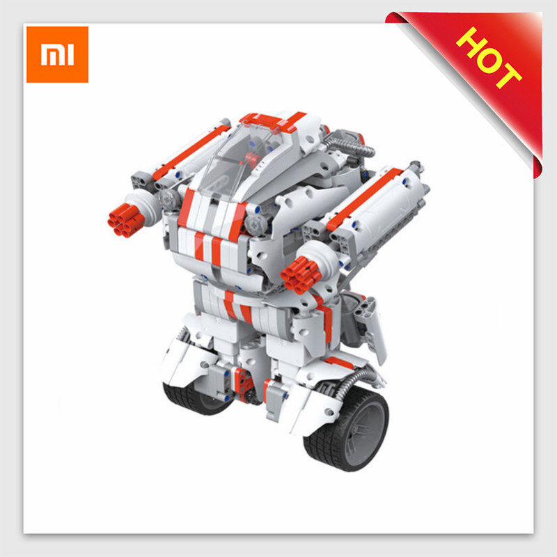 Xiaomi Mitu Robot DIY Mobile Remote Control Self-Assembled Robot Toy  Building Block Robot Bluetooth Mi Robot Toys for ChildrenXiaomi Mitu Robot DIY Mobile Remote Control Self-Assembled Robot Toy  Building Block Robot Bluetooth Mi Robot Toys for Children