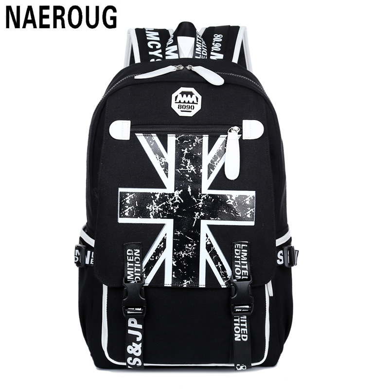 ФОТО New Arrivals Fashion Lovers Backpack Flag Graffiti Printing Style Couples Backpacks Unsex Laptop Bagpack Brand Schoolbag Mochila