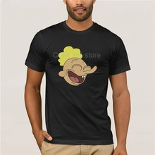 Camiseta corta a la moda para hombre el Big Bang Theory Rick y Morty camisa riing Big Johnson moda Camiseta 100% algodón(China)