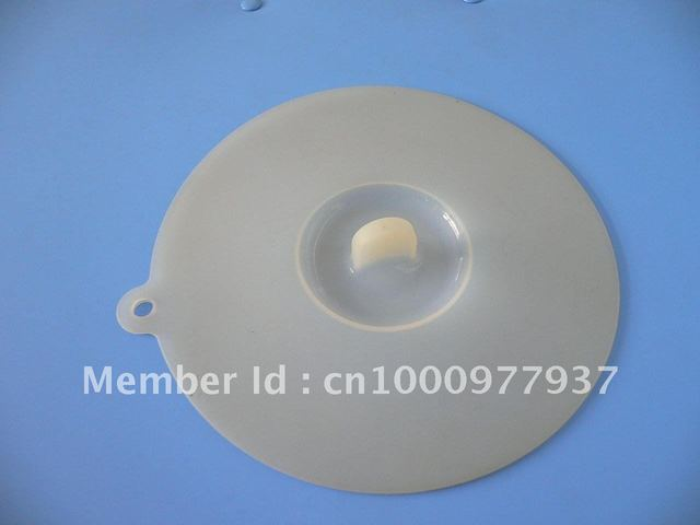 The silica gel attracts the lid, the silicon plastic bowl lid, the silica gel dust cover