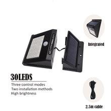 30led Separable LED Solar Light Solar Panel Power PIR Motion Sensor LED