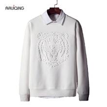 new fashion hoodies men sweatshirt monty Tiger head are print hoodie men cool pullover hoodies men sweatshirts tracksuit men