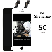 30PCS LOT AAA LCD Screen Digitizer Assembly For IPhone 5 5G LCD Display Replacement With Camera