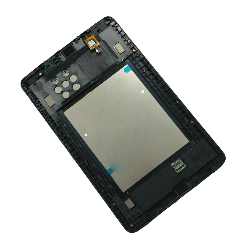 For Lenovo IdeaTab A8-50 A5500 A5500F A5500-H A5500-HV Touch Screen Digitizer + LCD Display Panel Monitor Assembly with Frame free shipping original a8 50 a5500 hv claa080wq05 b080ean02 2 lcd screen external screen touch screen
