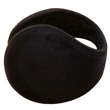 Unisex Black Earmuff Winter Ear Muff Wrap Band Warmer Grip Earlap Gift  94DL