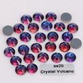 1440pcs/Lot, High Quality ss20 (4.8-5.0mm) Crystal Volcano Hotfix Rhinestones / Iron On Flat Back Crystals