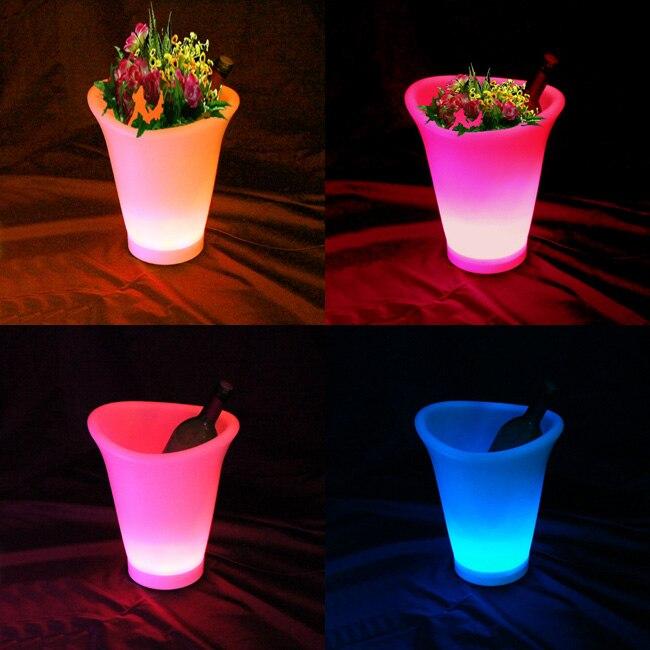 SK-LF07 L26 * W22 * H30cm cu LED-uri de plantare a florilor cu - Produse de grădină