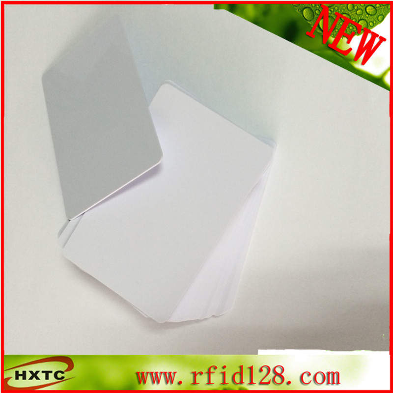 200PCS/lot Rewritable nfc RFID 1k S50 Blank Card / Thin PVC Card 13.56MHz ISO14443A IC Smart Card Fudan Chips Waterproof