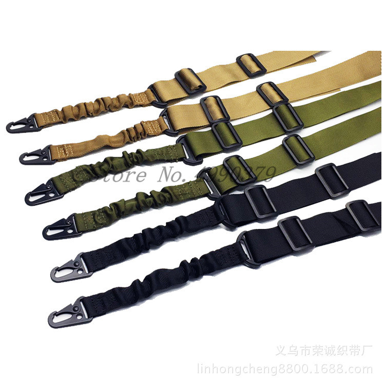 Image 5 - Mayitr Military Heavy Duty Gun Belt Strap Tactical 2 Points Nylon Bungee Rifle Sling Outdoor Gun Accessories-in Hunting Gun Accessories from Sports & Entertainment