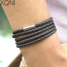 Arrival Of 2015 New Bracelet Fashion And Personality Style Men Punk Charm Christmas Gift