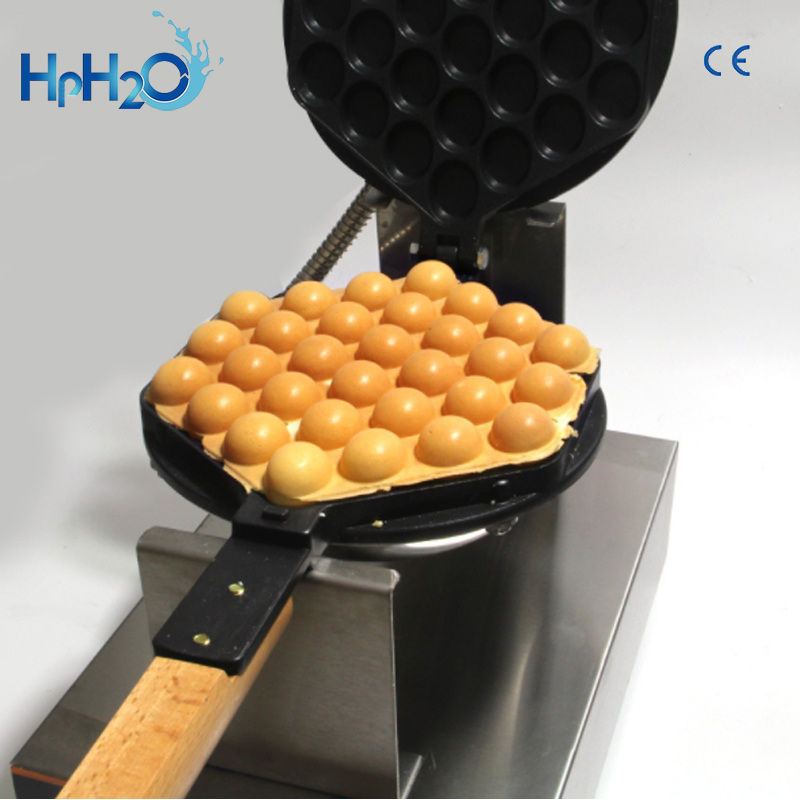 Image 5 - Commercial Electric 110V /220V Non stick pan egg bubble waffle maker Eggettes  puff cake iron maker machine bubble egg cake oven-in Waffle Makers from Home Appliances